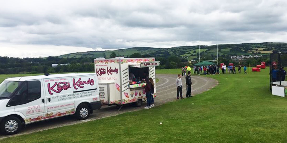 Candy Trailer Hire