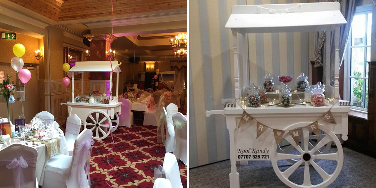 wedding sweet cart hire 2